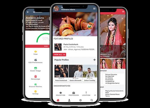 Daivajna Matrimony Mobile Application